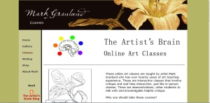 image links to the classes section of Mark Granlund web site.