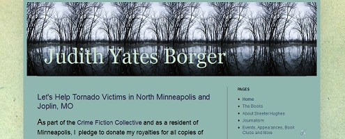 Image of Judith Yates Borger website